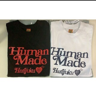 ジーディーシー(GDC)のHUMAN MADE × Girls Don't Cry Tシャツ 白黒2点#3(Tシャツ/カットソー(半袖/袖なし))