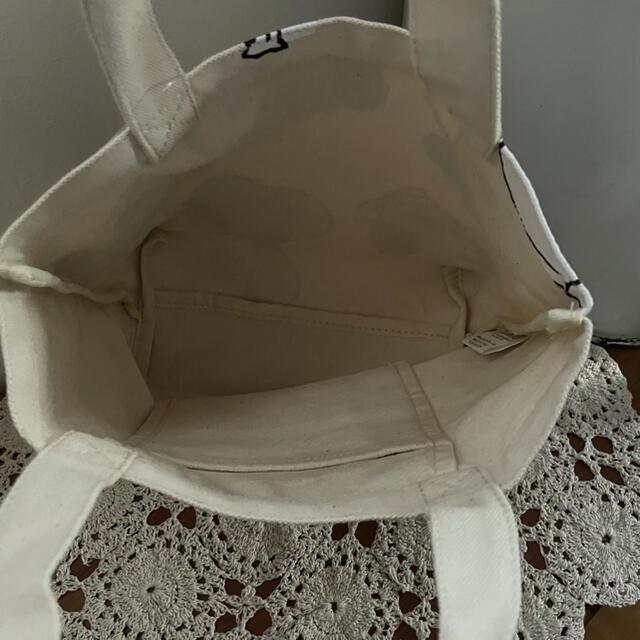 SNOOPY(スヌーピー)の新品*スヌーピー ミニトートバッグ / FAMILY レディースのバッグ(トートバッグ)の商品写真