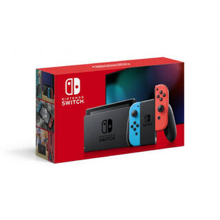 Nintendo Switch - 【新品 おまけ二点】 Nintendo Switch ネオン 本体 店舗印あり