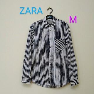 ZARA - ZARA メンズシャツ ストライプシャツ Slim Fit