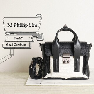 スリーワンフィリップリム(3.1 Phillip Lim)の3.1 フィリップリム 美品 ミニ パシュリ 2WAY ショルダー バッグ(ショルダーバッグ)