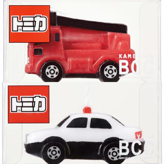 Takara Tomy - トミカキャンドル パトカー 消防車 2セット