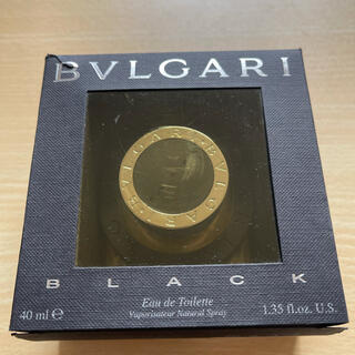 ブルガリ(BVLGARI)のブルガリブラック香水 40ml(ユニセックス)