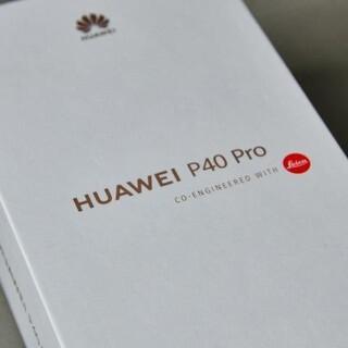 HUAWEI - HUAWEI P40 Pro 5G シルバーフロスト 国内版 中古品