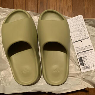 アディダス(adidas)のadidas yeezy slide resin 23.5(サンダル)