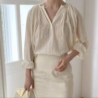 Lily Brown - (web完売商品) BASSTANDARD  London blouse