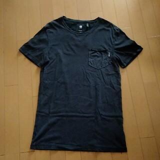 ジースター(G-STAR RAW)の同梱無料!G-STAR RAW ジースターロウ ロング丈Tシャツ/S(Tシャツ/カットソー(半袖/袖なし))