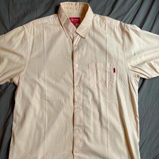 Supreme - 美色 L Supreme OX ford short sleeve shirt