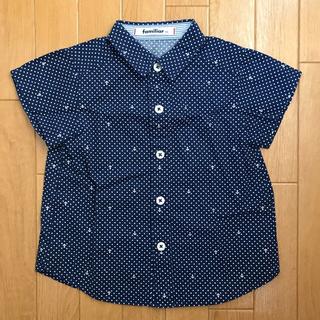 ファミリア(familiar)のファミリア ベビー 半袖 シャツ マリン 男の子 90(Tシャツ/カットソー)