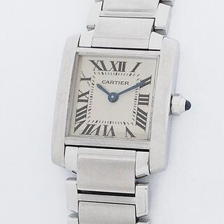 Cartier - カルティエ Cartier タンク フランセーズ SM W51008Q3