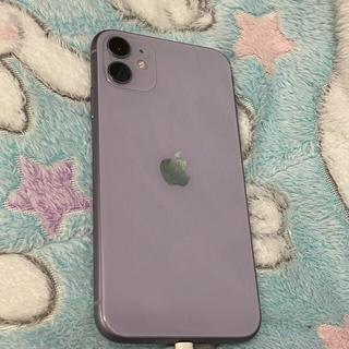 Apple - iPhone11 パープル 128ギガSIMフリー