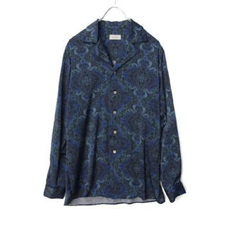 LAD MUSICIAN - BED j.w. FORD Open collar shirt ver.2