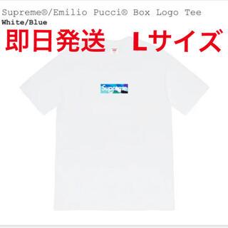 Supreme - Supreme®/Emilio Pucci® Box Logo Tee Lサイズ