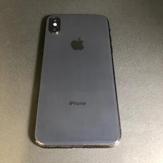 iPhone - iPhoneX 64GB グレー AU SIM解除済 本体のみ