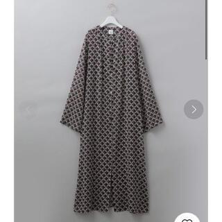 BEAUTY&YOUTH UNITED ARROWS - roku 6(ROKU) SQUARE PRINT DRESS/ワンピース