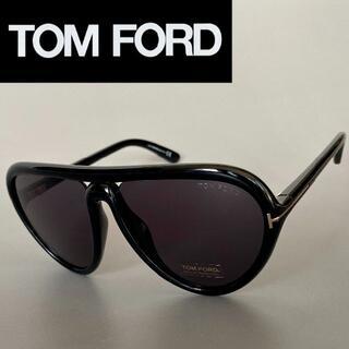 TOM FORD - トムフォード ブラック グレー ゴールド サングラス 黒 金
