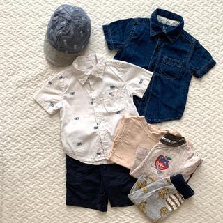 ベビーギャップ(babyGAP)の海外ブランド入り、男の子服セット(Tシャツ/カットソー)