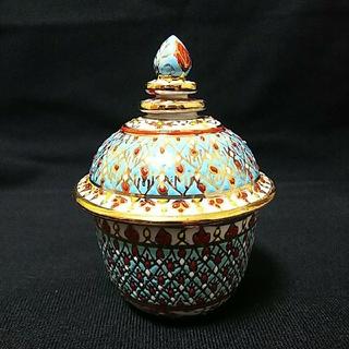 ベンジャロン燒 小物入れ 陶器 タイ