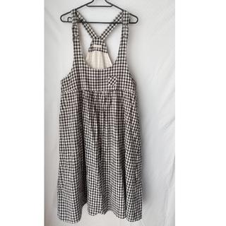 Solberry - ギンガムチェックジャンパースカート