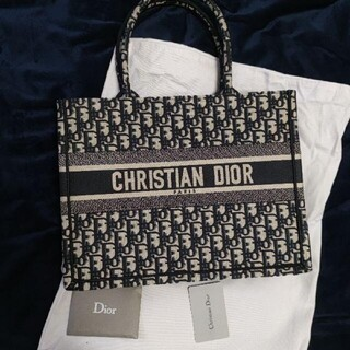 Christian Dior - christian dior book tote トートバッグ 美品