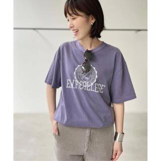 アパルトモンドゥーズィエムクラス(L'Appartement DEUXIEME CLASSE)のグッドロックスピード College T-sh(Tシャツ(半袖/袖なし))