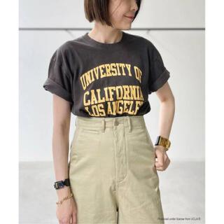 アパルトモンドゥーズィエムクラス(L'Appartement DEUXIEME CLASSE)のグッドロックスピード College T-sh UCLA(BK)(Tシャツ(半袖/袖なし))