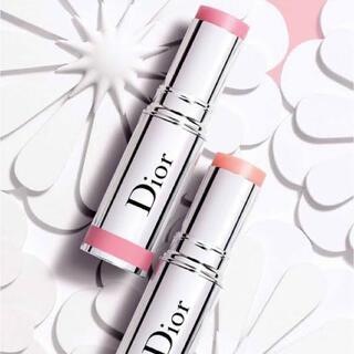 Dior - ほぼ新品♡ Diorスティックグロウ865ライトピンク♡