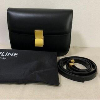 celine - セリーヌ クラシックボックス ミディアム ブラック