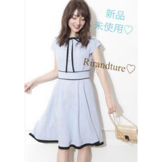 Rirandture - 6/25まで値下げ【新品】リランドチュール♡アプワイザーリッシェ♡リボンワンピ