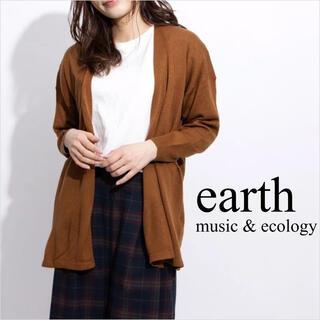 earth music & ecology - earth music&ecology カーディガン*ローリズファーム MUJI