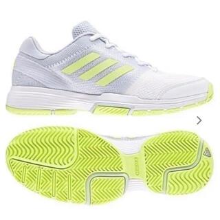 アディダス(adidas)の送料無料 新品 adidasテニスシューズBARRICADE CODE CLUB(シューズ)