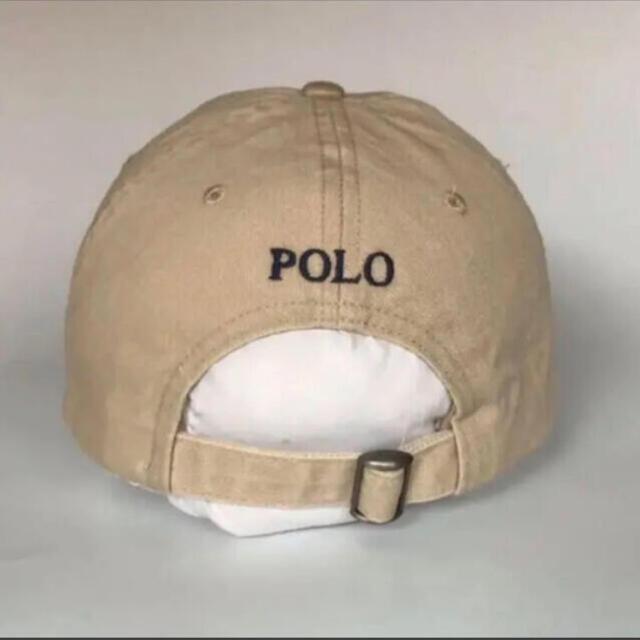 POLO RALPH LAUREN(ポロラルフローレン)の大人気!新品未使用☆男女兼用ラルフローレンキャップベージュ  メンズの帽子(キャップ)の商品写真