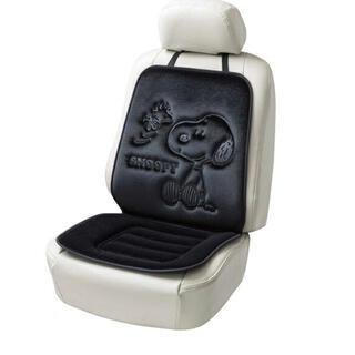 スヌーピー(SNOOPY)の車 シートクッション スヌーピー 2枚セット(車内アクセサリ)