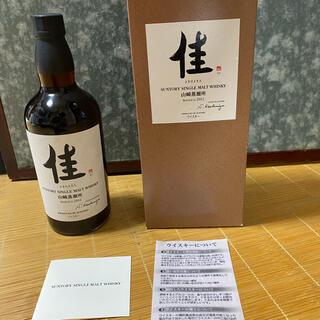 サントリー - 山崎蒸留所佳2012