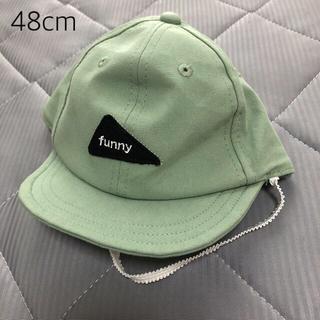 petit main - プティマイン   ワッペンキャップ 帽子 48cm