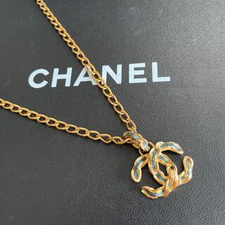 シャネル(CHANEL)のシャネル ココマークネックレス(ネックレス)