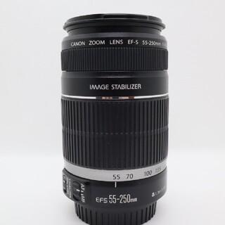 キヤノン(Canon)の【超美品】Canon  EF-S 55-250mm IS 手振れ補正 望遠レンズ(レンズ(ズーム))
