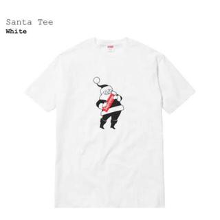 Supreme - SUPREME 16aw Santa Tee White Tシャツ  M