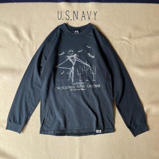 ディズニー(Disney)の90s-00sThe Nightmare before ChristmasロンT(Tシャツ/カットソー(七分/長袖))