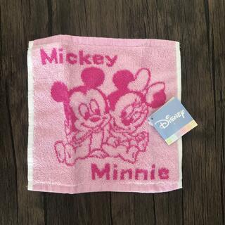 ミッキーマウス(ミッキーマウス)のミッキーマウス ミニーマウス ハンカチ(その他)