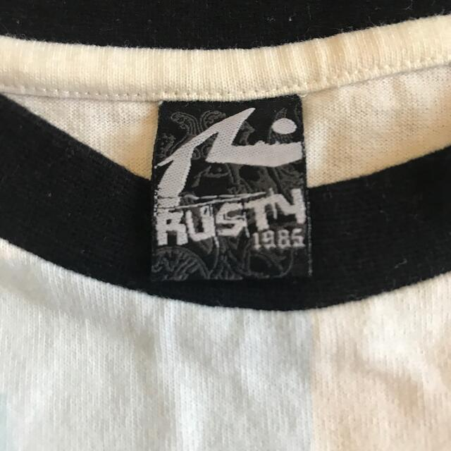 RUSTY(ラスティ)のRUSTY プリント Tシャツ メンズのトップス(Tシャツ/カットソー(半袖/袖なし))の商品写真