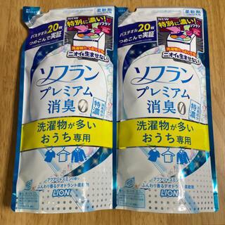 LION - ライオン ソフラン プレミアム 消臭0 柔軟剤 430ml つめかえ 2袋