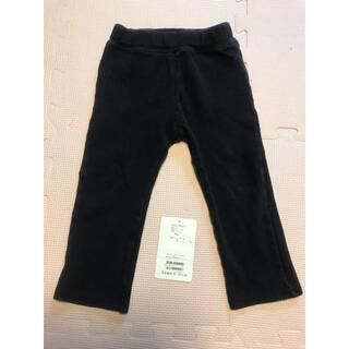 BeBe - 90 ズボン パンツ スウェット べべ BeBe 定価1,700円 黒 ブラック