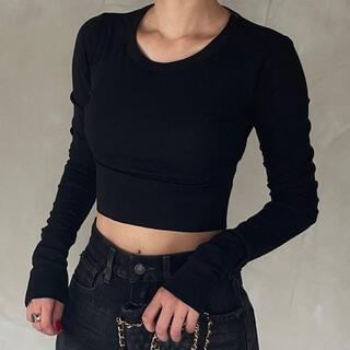 long sleeve short tops