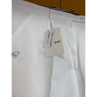 HANAE MORI - ハナエモリ白衣パンツ 未使用タグ付き
