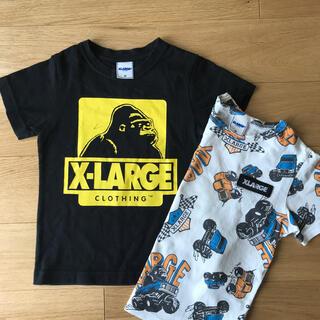 XLARGE - XーLARGE キッズ エックスラージ 110 半袖Tシャツ 2枚組 ラルフも♪