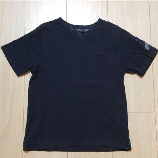 BURBERRY - BURBERRY Tシャツ ネイビー 110
