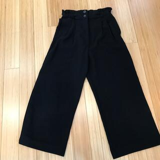 H&H - H&M  7ぶ丈ワイドパンツ 36サイズ