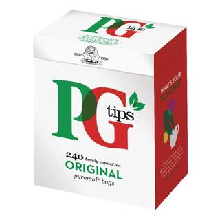 Black Tea - PG Tips, 80 Bag's(茶)