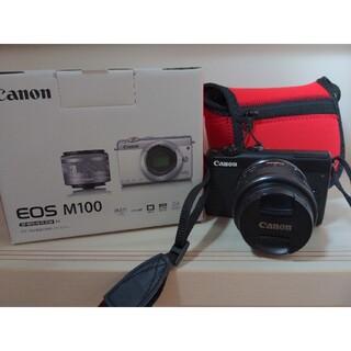 Canon - canon eos m100 ミラーレス一眼カメラ